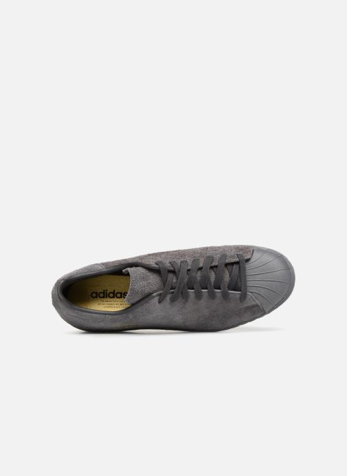 Deportivas adidas originals SUPERSTAR 80s CLEAN Gris vista lateral izquierda