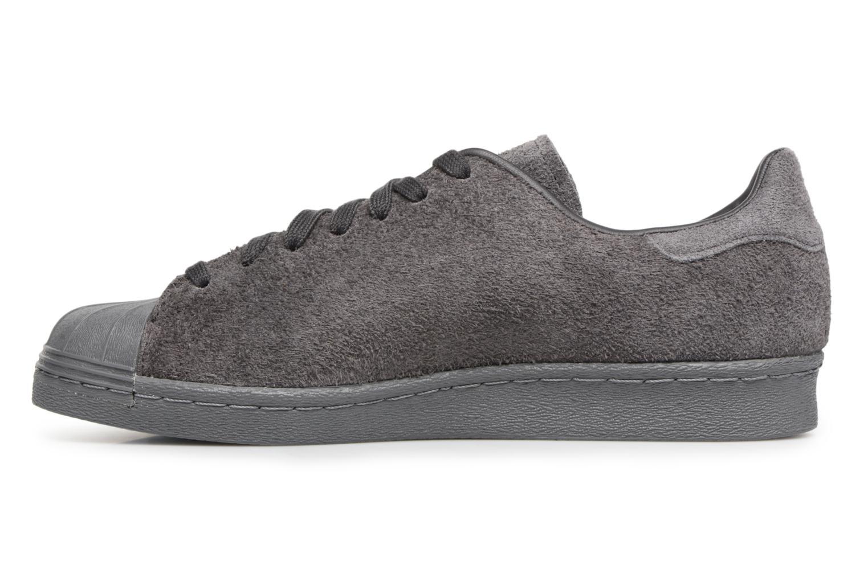 Sneakers Adidas Originals SUPERSTAR 80s CLEAN Grijs voorkant