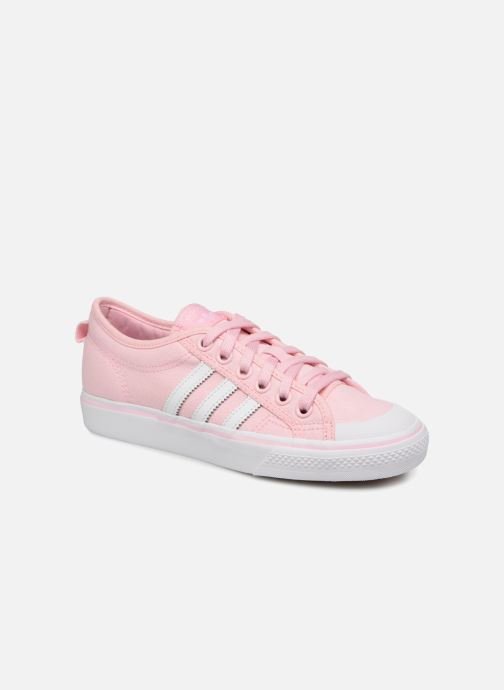 adidas originals NIZZA W (Rose) - Baskets chez Sarenza (323183)