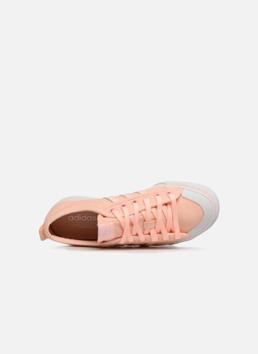 Baskets adidas originals NIZZA W Orange vue gauche