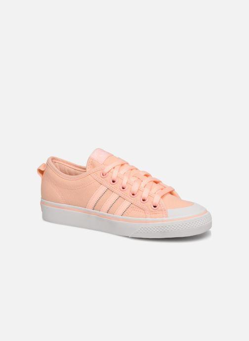 more photos 1a253 4c52b Sneakers adidas originals NIZZA W Arancione vedi dettaglio paio