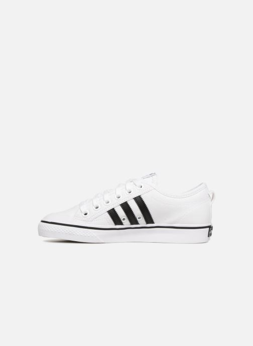 Sneakers adidas originals NIZZA W Bianco immagine frontale