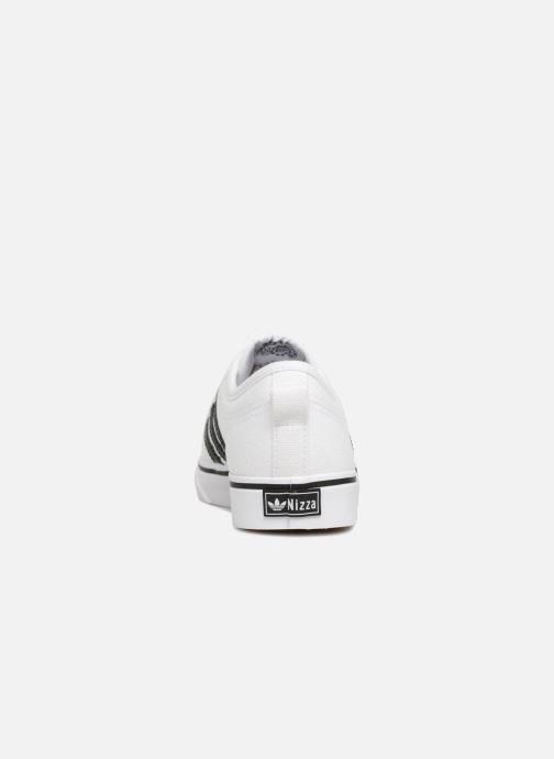 Sneakers adidas originals NIZZA W Bianco immagine destra
