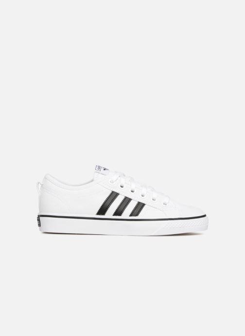 Sneakers adidas originals NIZZA W Bianco immagine posteriore