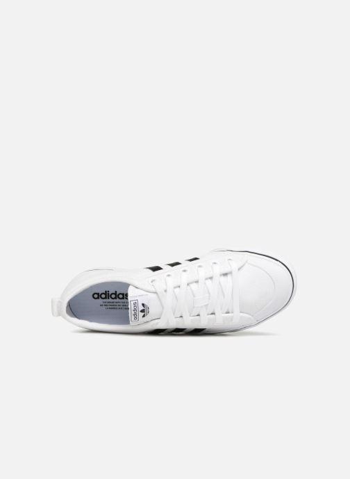 Baskets adidas originals NIZZA W Blanc vue gauche