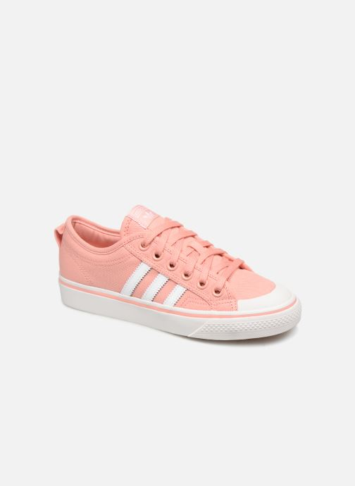 adidas originals NIZZA W (Rose) - Baskets chez Sarenza (354984)