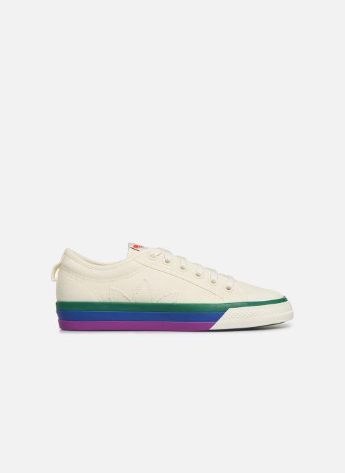 Sneakers adidas originals NIZZA W Wit achterkant