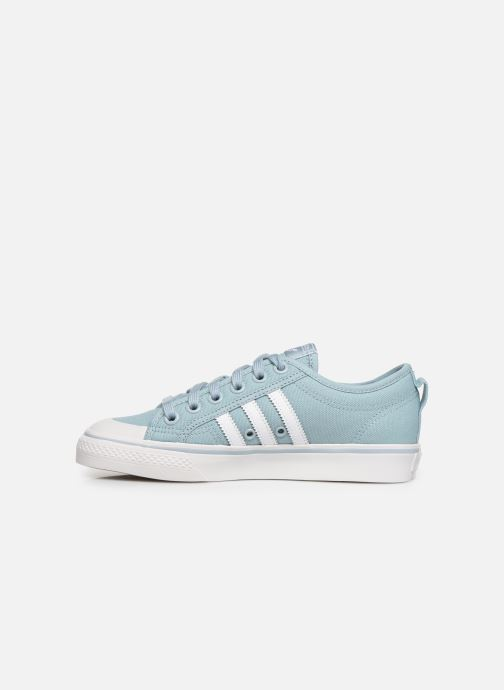 Baskets adidas originals NIZZA W Bleu vue face