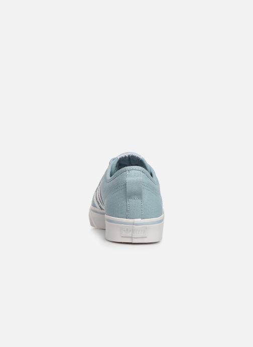 Baskets adidas originals NIZZA W Bleu vue droite