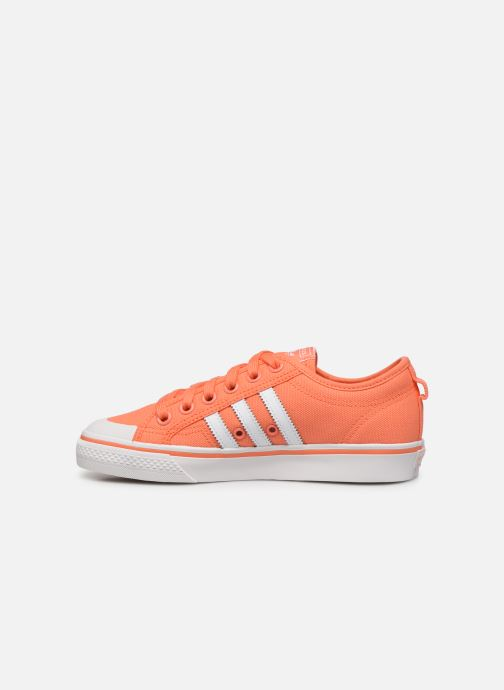 Baskets adidas originals NIZZA W Orange vue face