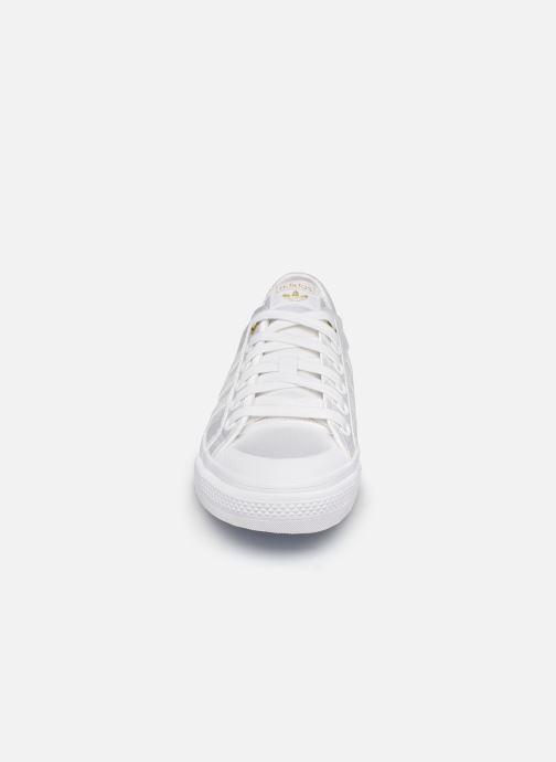 Sneaker adidas originals NIZZA W weiß schuhe getragen