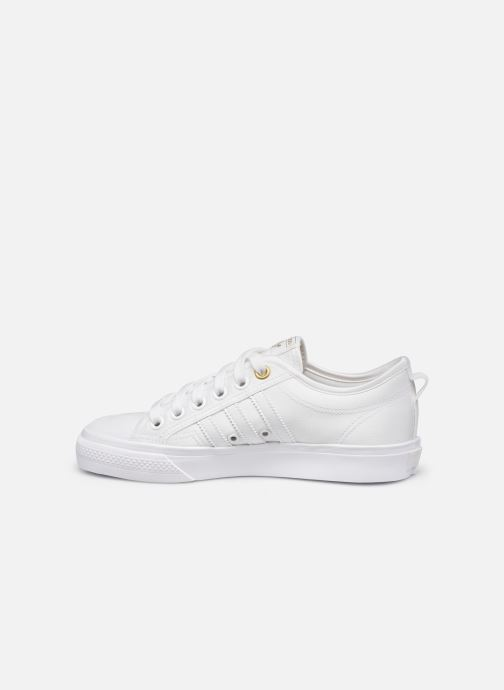 Baskets adidas originals NIZZA W Blanc vue face