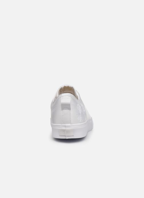 Baskets adidas originals NIZZA W Blanc vue droite