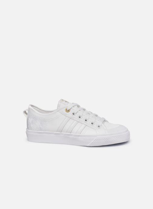 Sneaker adidas originals NIZZA W weiß ansicht von hinten