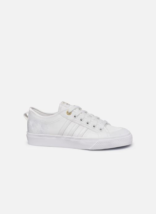 Baskets adidas originals NIZZA W Blanc vue derrière