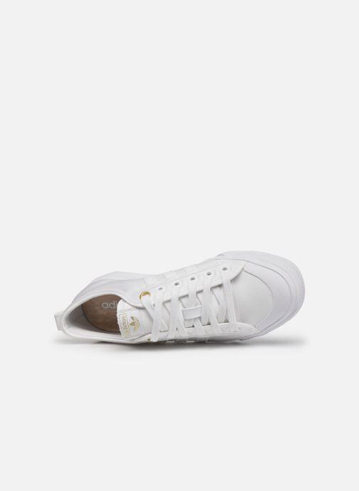 Sneaker adidas originals NIZZA W weiß ansicht von links
