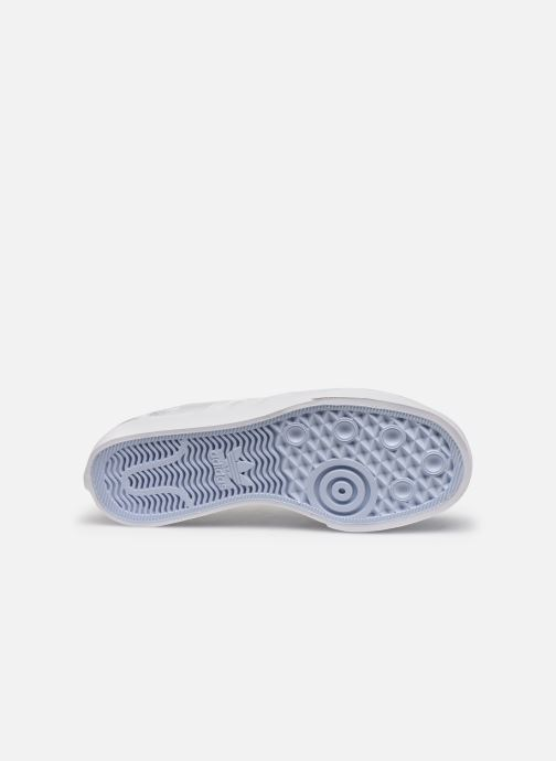 Baskets adidas originals NIZZA W Blanc vue haut