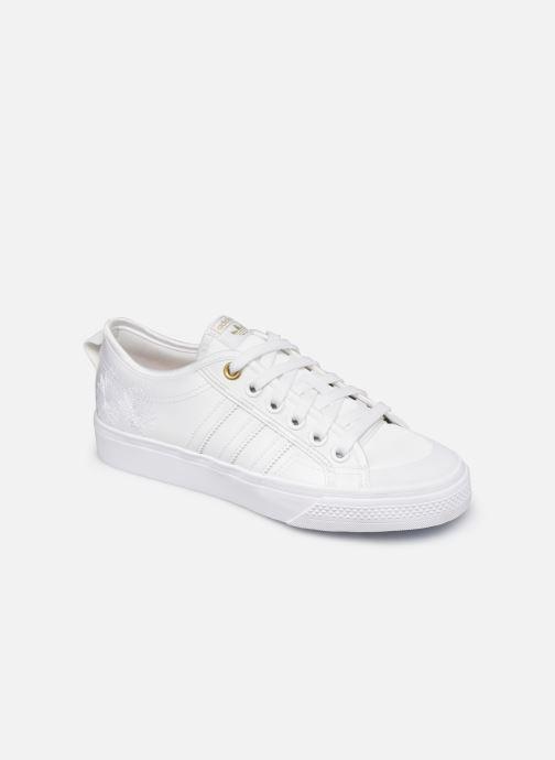 adidas originals NIZZA W (Wit) Sneakers chez Sarenza (438830)