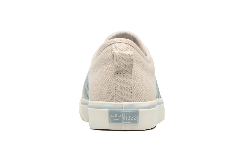 Baskets Adidas Originals NIZZA W Beige vue droite