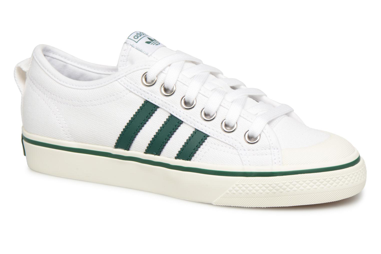 Adidas Originals NIZZA W (Blanc) - Baskets en Más cómodo Nouvelles chaussures pour hommes et femmes, remise limitée dans le temps