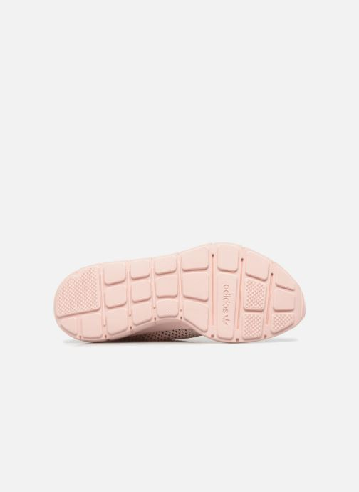 adidas originals SWIFT RUN PK W (Rose) Baskets chez