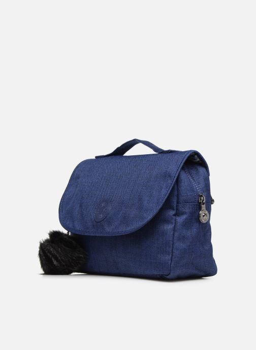 Reisegepäck kipling DOLORES blau schuhe getragen