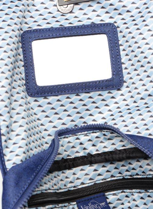 Reisegepäck kipling DOLORES blau ansicht von hinten