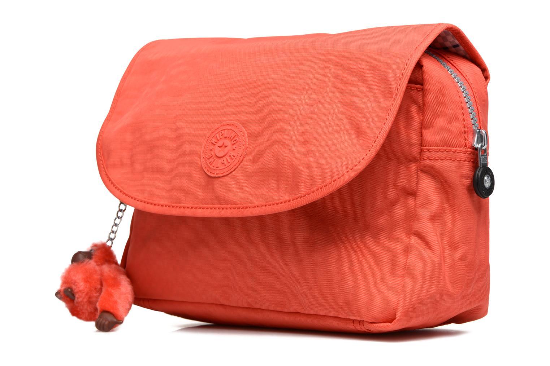 Bagages kipling DOLORES Orange vue portées chaussures