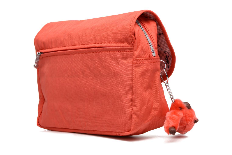 Reisegepäck kipling DOLORES orange ansicht von rechts