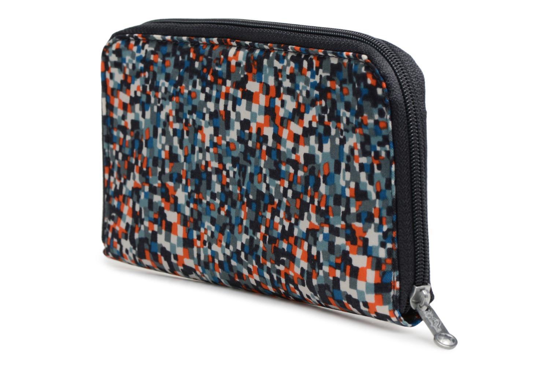 Portemonnaies & Clutches kipling TRAVEL DOC blau ansicht von rechts