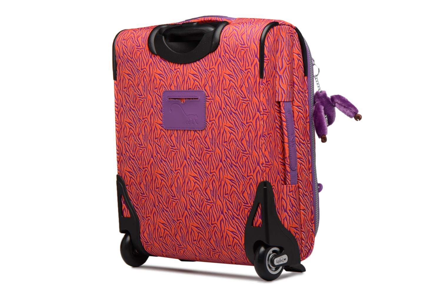 Bagages kipling YOURI 50 Rouge vue droite