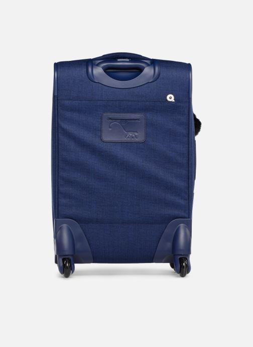 Reisegepäck Kipling YOURI SPIN 55 blau ansicht von vorne