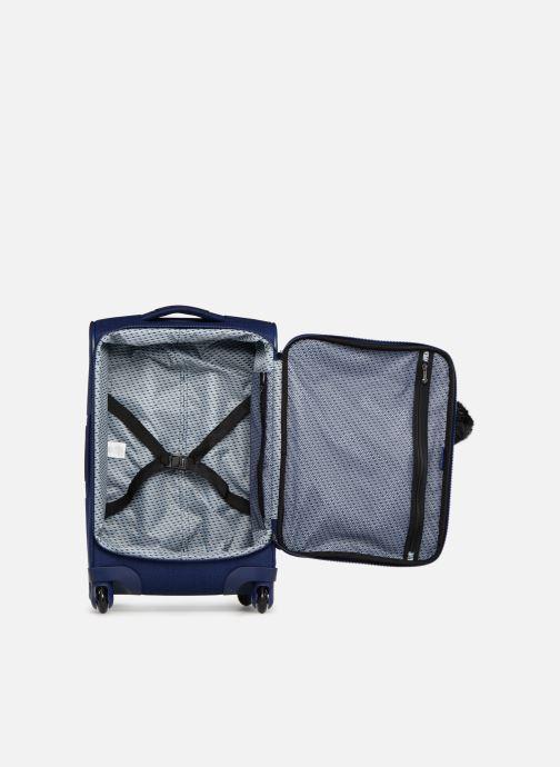 Reisegepäck Kipling YOURI SPIN 55 blau ansicht von hinten