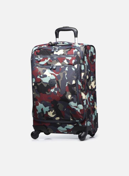 Bagagli Kipling YOURI SPIN 55 Multicolore modello indossato