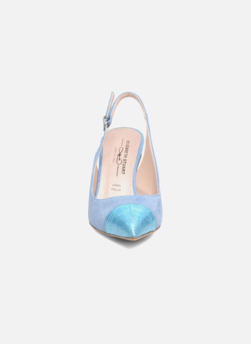Escarpins Elizabeth Stuart RAF 624 Bleu vue portées chaussures
