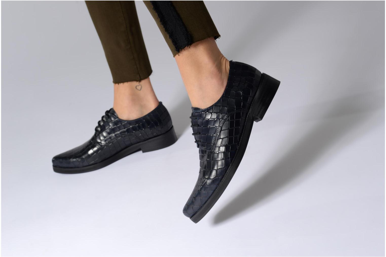 Chaussures à lacets Elizabeth Stuart FOLIO 318 Bleu vue bas / vue portée sac
