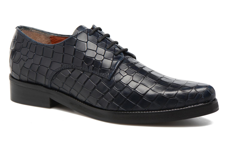 Chaussures à lacets Elizabeth Stuart FOLIO 318 Bleu vue détail/paire