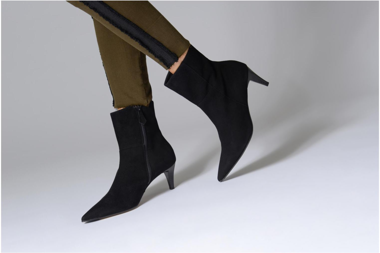 Bottines et boots Elizabeth Stuart RIMINI 300 Noir vue bas / vue portée sac