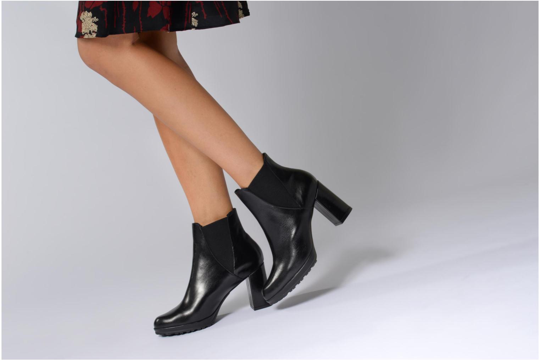 Bottines et boots Elizabeth Stuart SYNTONY 304 Noir vue bas / vue portée sac