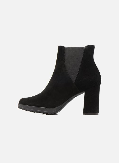Ankle boots Elizabeth Stuart Syntoni 334 Black front view