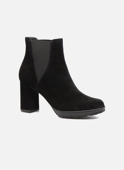 Ankle boots Elizabeth Stuart Syntoni 334 Black detailed view/ Pair view