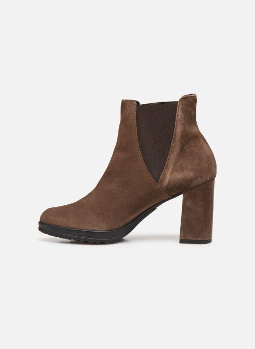 Bottines et boots Elizabeth Stuart Syntoni 334 Marron vue face