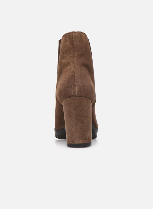 Bottines et boots Elizabeth Stuart Syntoni 334 Marron vue droite