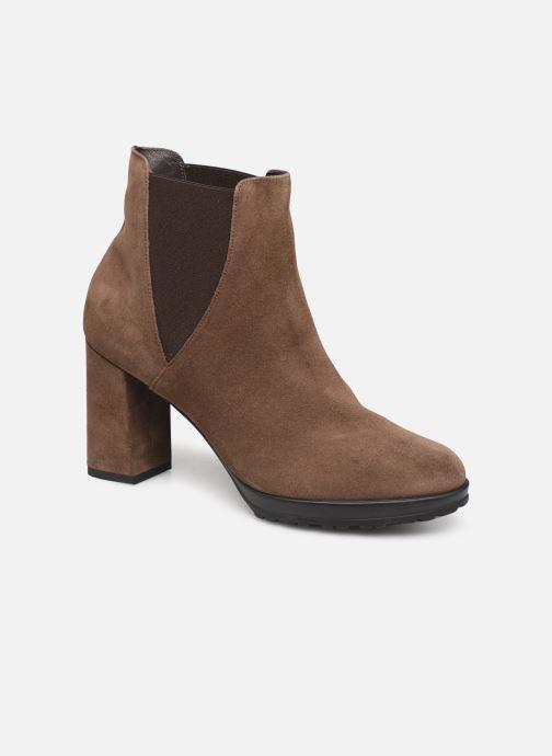 Bottines et boots Elizabeth Stuart Syntoni 334 Marron vue détail/paire