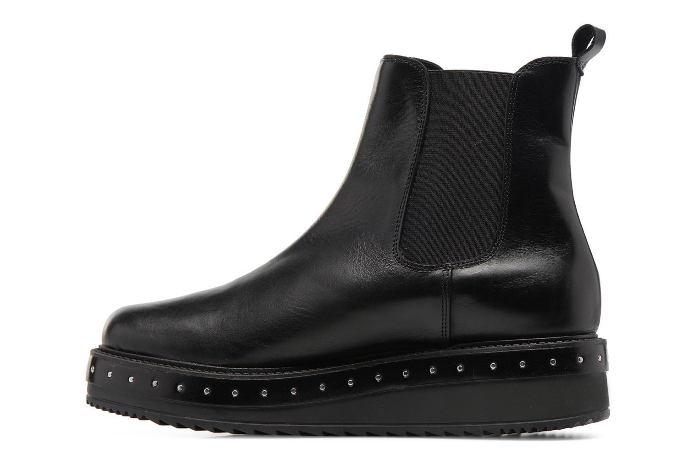 Bottines et boots Elizabeth Stuart URISA 304 Noir vue face