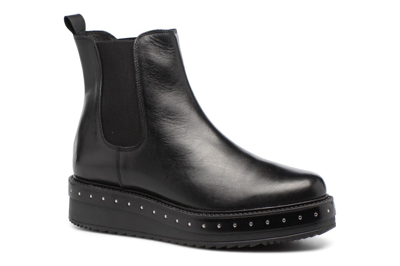Bottines et boots Elizabeth Stuart URISA 304 Noir vue détail/paire