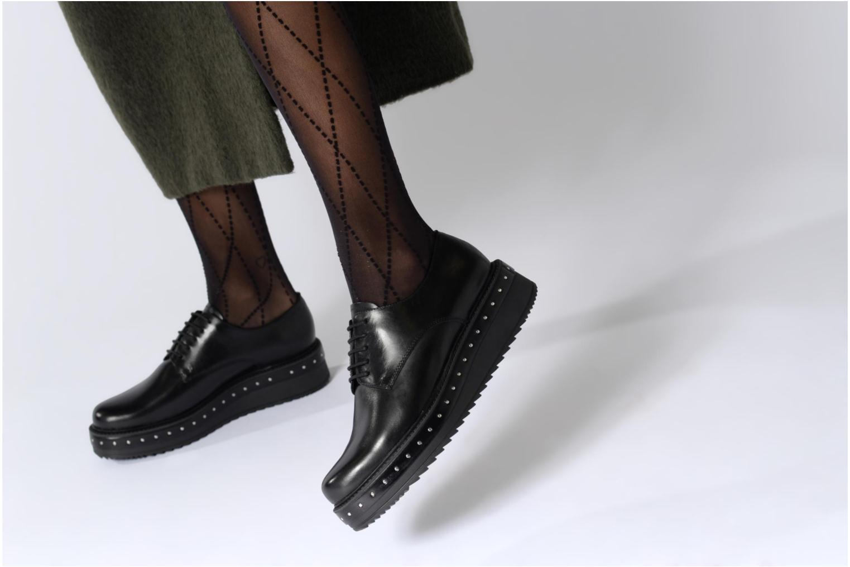 Chaussures à lacets Elizabeth Stuart URMA 304 Noir vue bas / vue portée sac