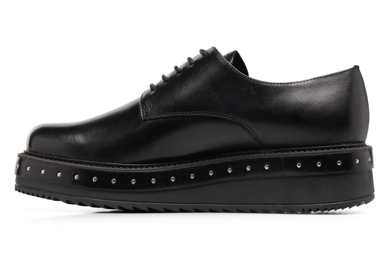 Chaussures à lacets Elizabeth Stuart URMA 304 Noir vue face
