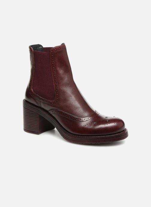 Ankelstøvler Elizabeth Stuart XATY 333 Bordeaux detaljeret billede af skoene