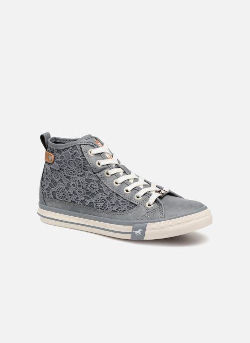 new styles 0d9a7 e71f3 Baskets Mustang shoes Nola 1146507 Bleu vue détail paire